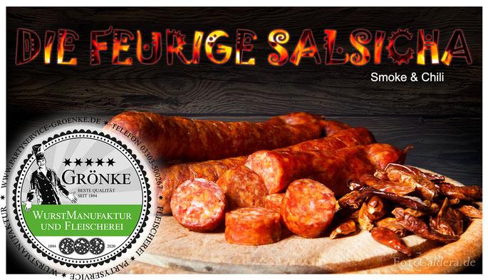Salsicha - die Feurige, von Fleischermeister Martin Grönke