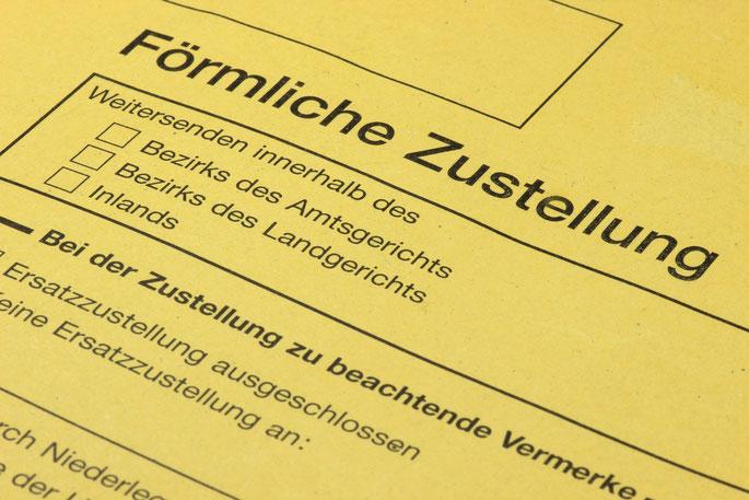 förmliche Zustellung; Anschriftenermittlung, Detektiv München, Detektei München