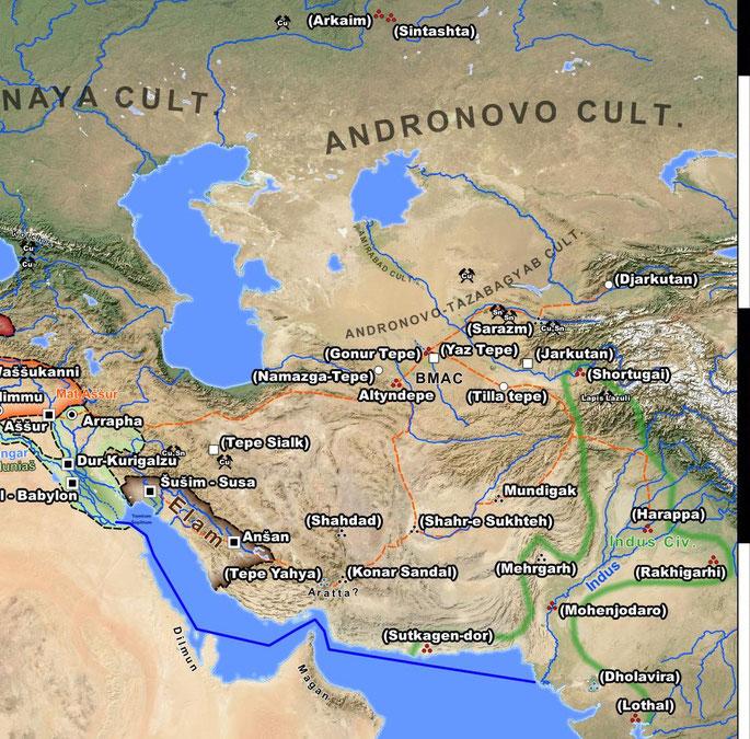 Bronze Age Central Asia