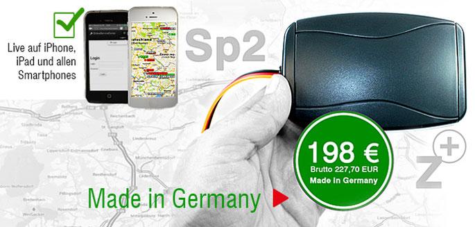 GPS-Ortung für Kfz 12 - 24 Volt