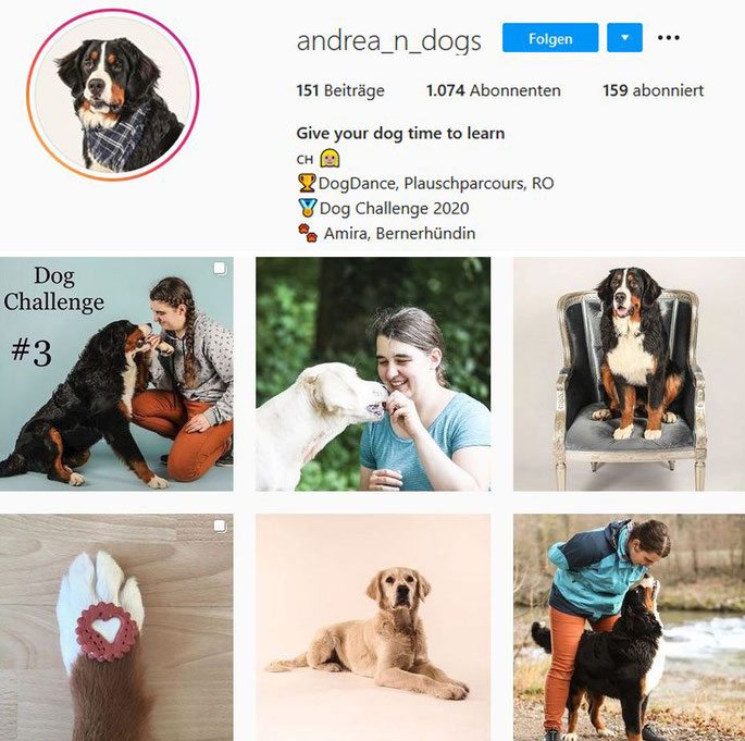 Instagram Account Andrea