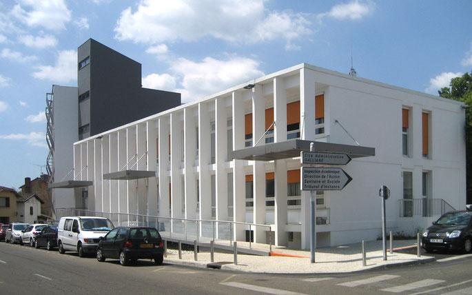 Façade Sud coté rue