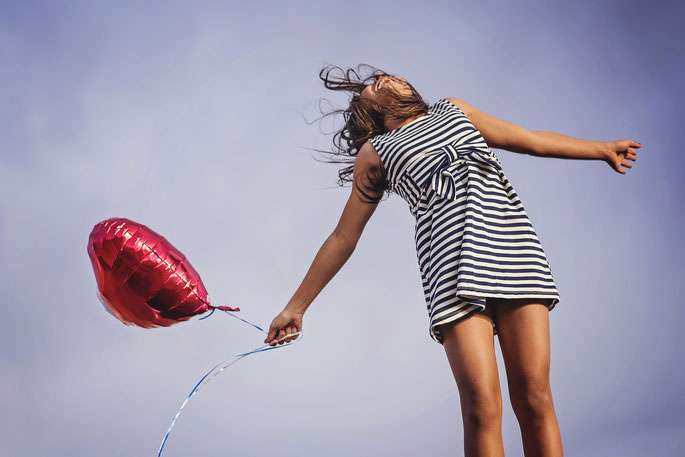 Ein Luftsprung - Freude durch neue Wege in der Ernährung