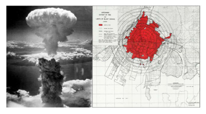 Atombombe Hiroshima und Nagasaki