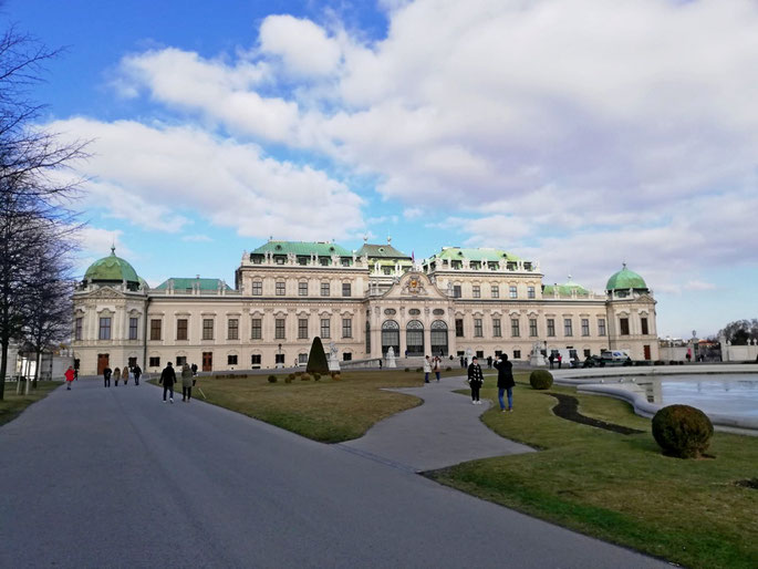 Castello del Belvedere Vienna Austria