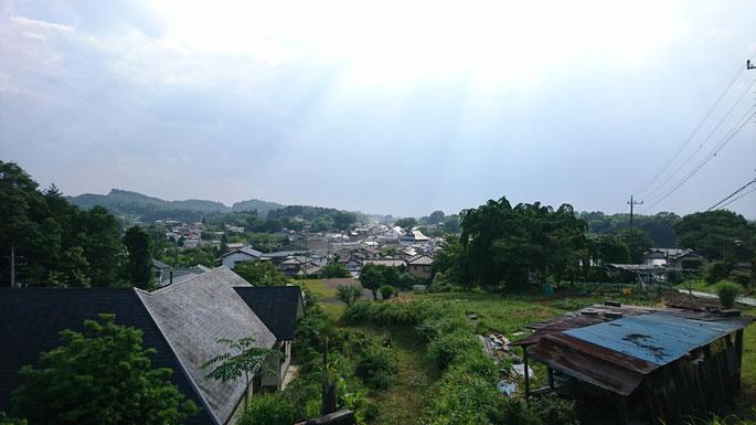 川尻製陶所からの益子町