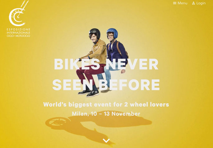EICMA 2016 Website