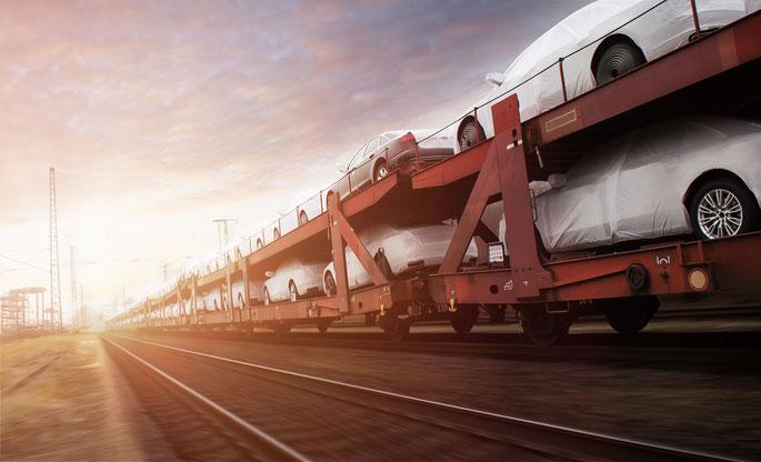 Autozug, Autotransport; Wirtschaftsdetektei Saarbrücken, Wirtschaftsdetektiv Saarland