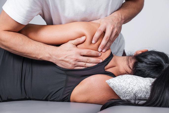 Rückenmassage Praxis Hörtner für Physiotherapie in Daisendorf am Bodensee