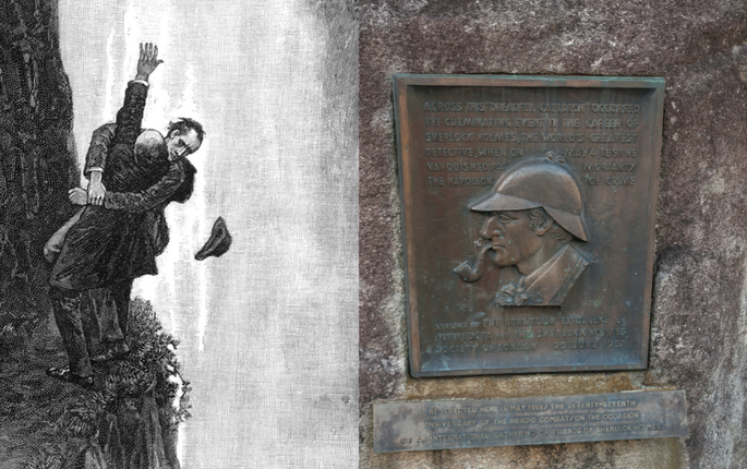 Sherlock Holmes: Reichenbachfall; Detektei Hannover, Detektiv Hannover, Privatdetektiv Hannover
