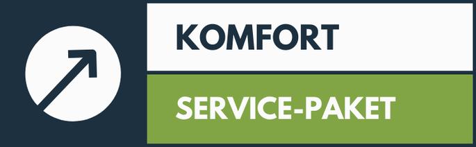 """Service-Paket """"Komfort"""""""