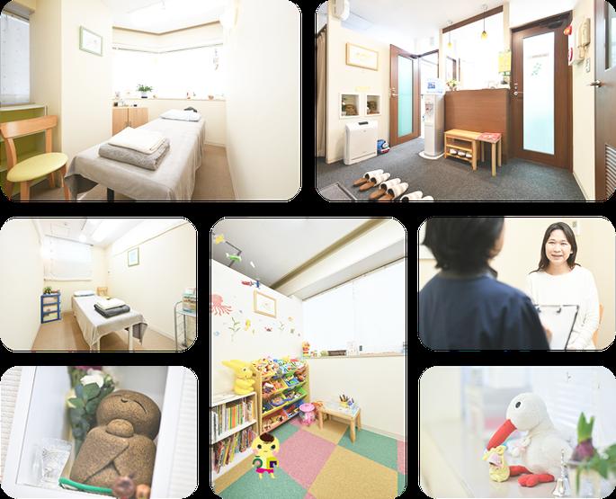 女性のための鍼灸マッサージ治療院、院内の写真