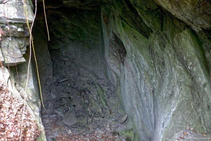 Historische Schiefergrube bei Cramberg