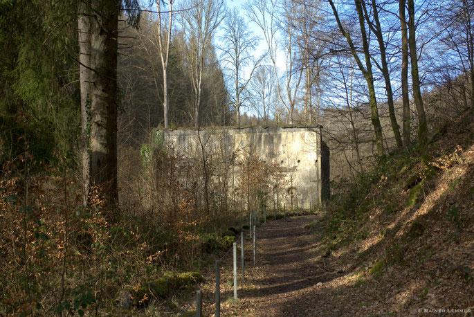 Ruinen der ehemaligen Pulverfabrik Elisenthal