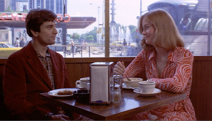 "Travis e Betsy in ""Taxi Driver"""