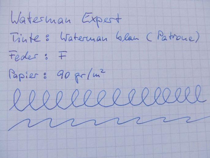 Danke, Horst, für Deine Schriftprobe