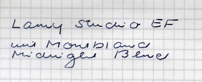 """Schriftbeispiele der """"Daily Carries"""""""