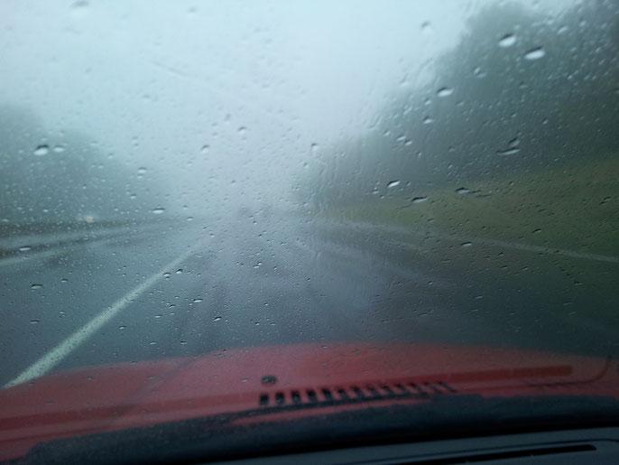 Auf der Autobahn nach Nürnberg