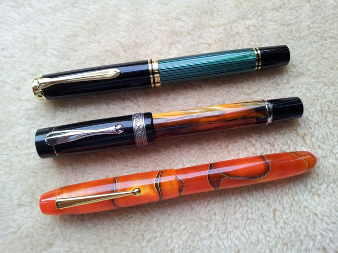 Pelikan M1000, Lindauer und Edison Collier