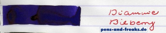 Enorme Farbsättigung im Papierausstrich