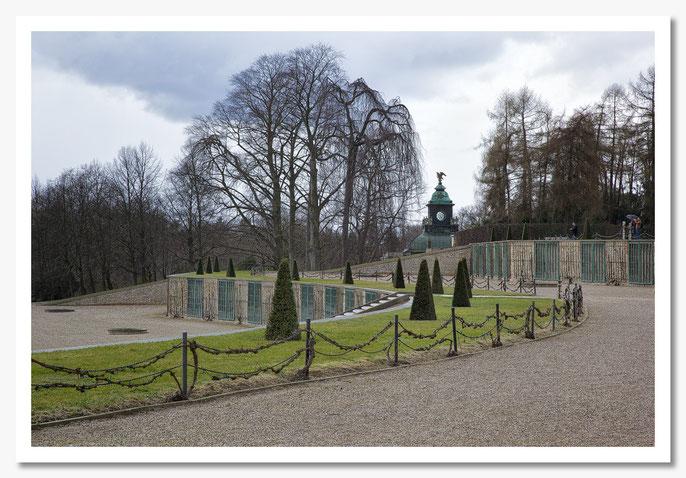 Schlosspark Sans Souci / Potsdam