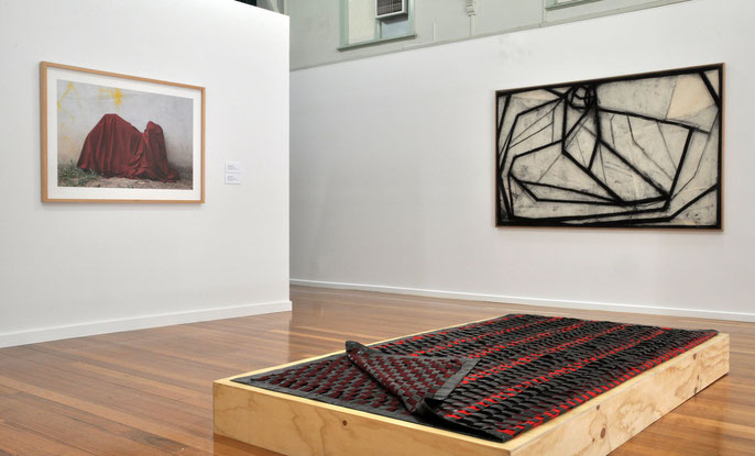 Installation view: Horsham Regional Art Gallery