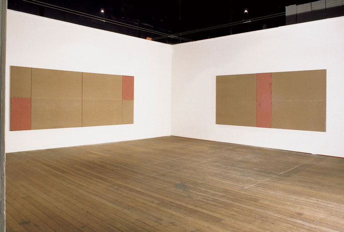 installation view: Temple Studios, 1997