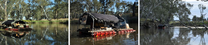 Roger Soong goes up and down Wimmera River. Sits a lot. Oct 28-31, 2013