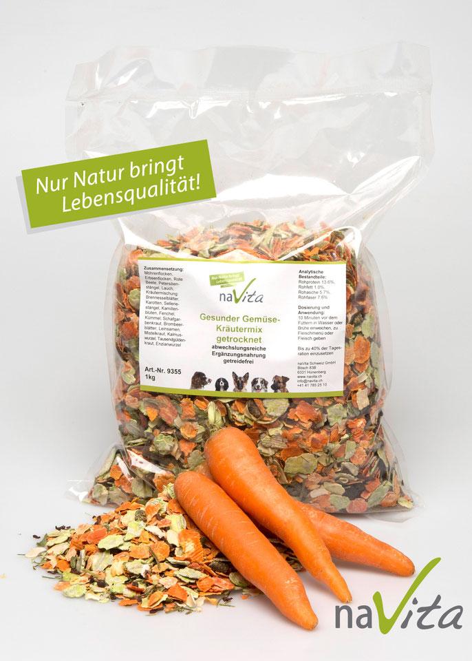 naVita`s gesundser Gemüse-Kräutermix