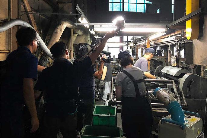 テレビ大阪『あとな旅 あるき旅』取材