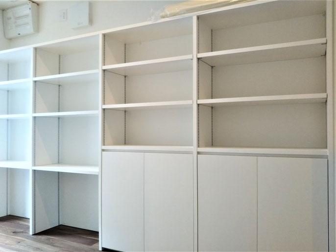 キッチン収納棚 パントリー 食品庫 オーダー家具