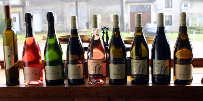 Les vins de Meuse du Domaine de Muzy