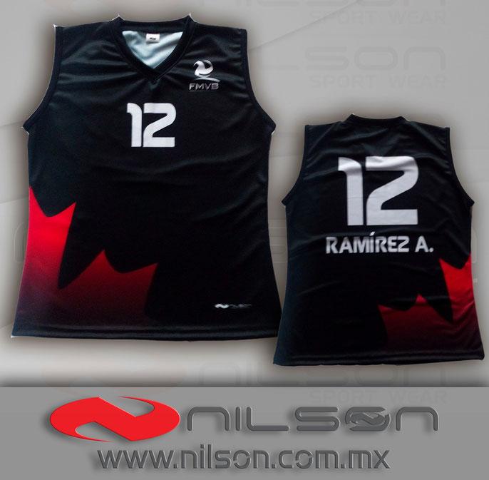 jersey nilson voleibol modelo canada