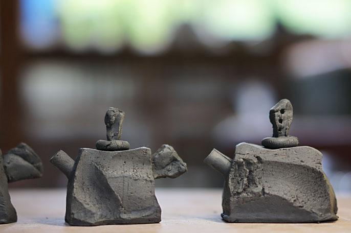 仲本律子 R工房 女性陶芸家 茨城県笠間市 粉引作品 ブログ 注器