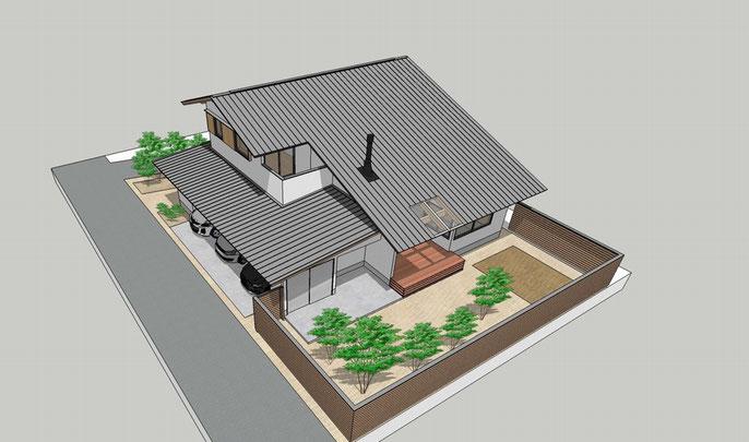 長野県 松本市 伊那市 建築設計事務所 建築家 news設計室 丸山和男 住宅設計 基本設計 計画 プレゼンテーション 設計監理