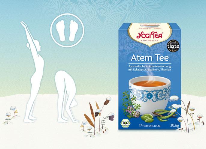 Atem Tee Ayurvedische Teemischung - Wunderbar, leicht, angenhem