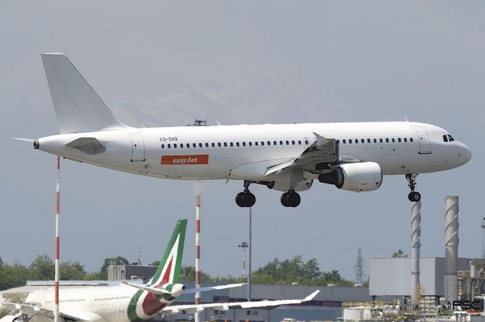 ES-SAQ A320-214 984 easyJet @ Milano Malpensa Airport 05.05.2018 © Piti Spotter Club Verona