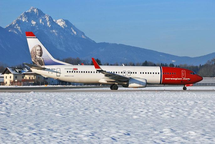 LN-NOS B737-8BK 33018/1488 Norwegian @ Salzburg Airport 2011 © Piti Spotter Club Verona