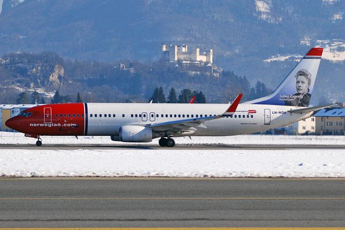 LN-NOH B737-86N 36814/3015 Norwegian @ Salzburg Airport 2011 © Piti Spotter Club Verona