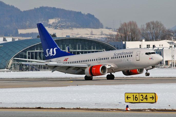 LN-TUD B737-705 28217/142 SAS Scandinavian Airlines - Scandinavian Airlines System @ Salzburg Airport 2011 © Piti Spotter Club Verona