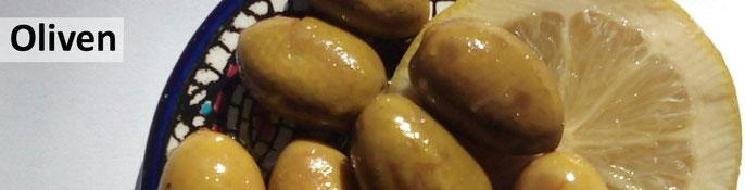 Eingelegte grüne Oliven aus Palästina | online kaufen