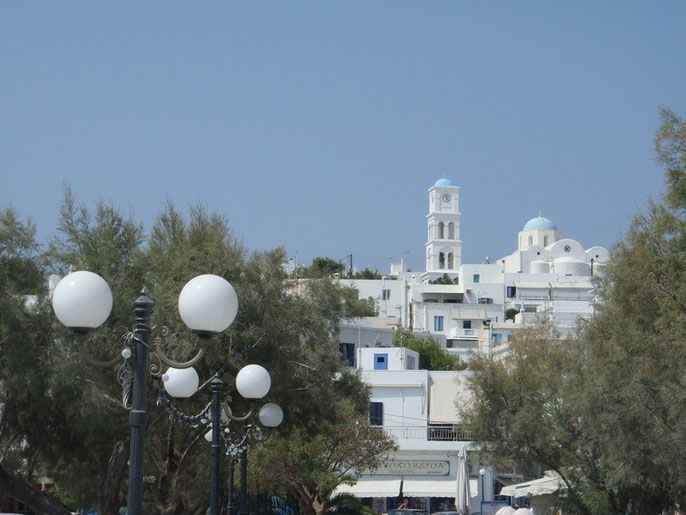 Adamas, Milos, Cyclades, Greece.
