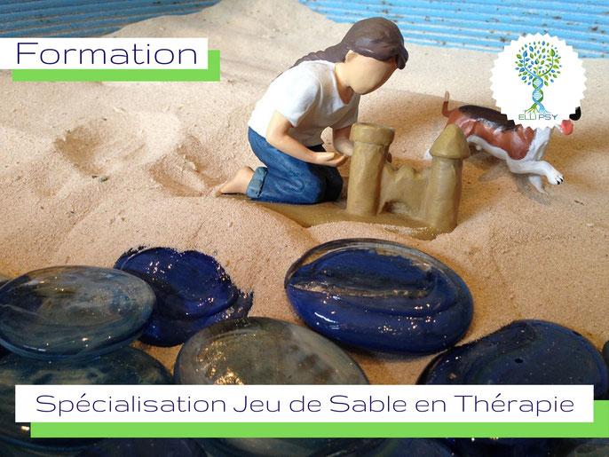 www.ellipsy.fr, formation art thérapie, danse thérapie, devenir Praticien en Art Thérapie, spécialisation Jeu de sable, psychologie jungienne, 2 jours.