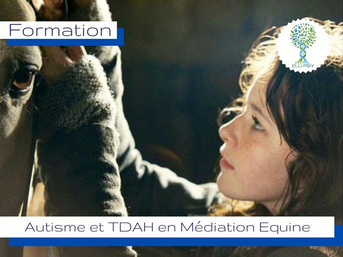 ELLIPSY spécialisation Autisme en médiation équine, équithérapie, trouble de spectre autistique et cheval