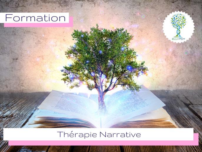 ELLIPSY formation Thérapie Narrative, pratiques narratives, cartes narratives, Michael WHITE, David EPSON