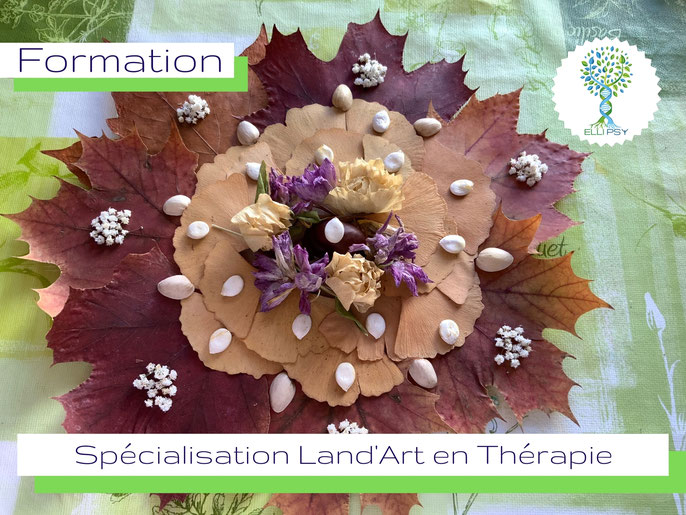 www.ellipsy.fr, formation art thérapie, danse thérapie, devenir Praticien en Art Thérapie, spécialisation Land Art, formation 2  jours.