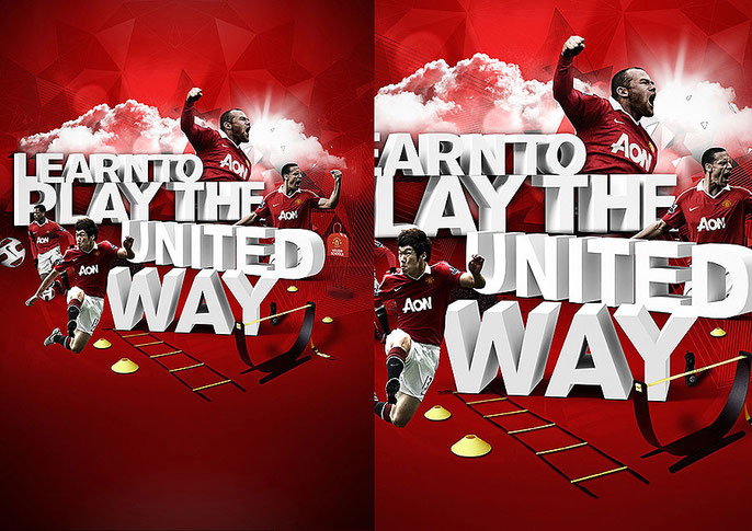 Client: Manchester United Agency: Creative Spark Manchester
