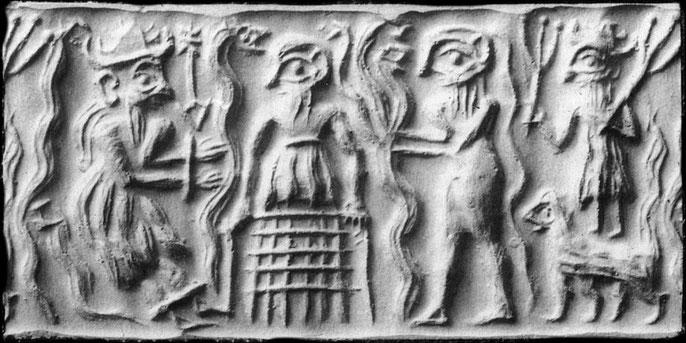 La Descente d'Inanna aux Enfers ou, dans sa version akkadienne, Descente d'Ishtar aux Enfers, est un mythe sumérien qui raconte comment la déesse Inanna ou Ishtar descend aux Enfers afin d'en renverser la dirigeante, sa sœur Ereshkigal, la Reine des Morts