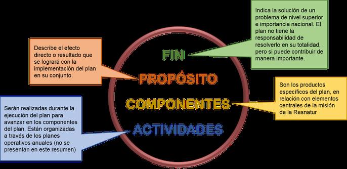 Figura 1. Secciones del plana estratégico