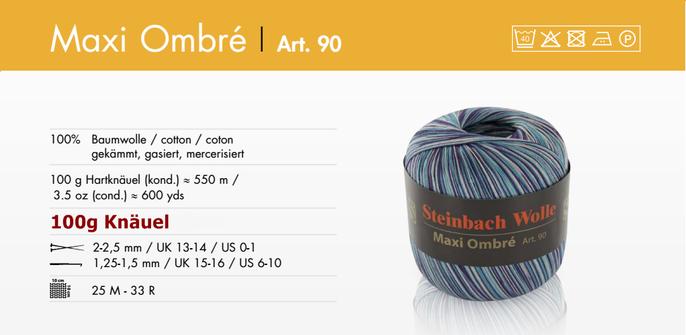 Steinbach Garn Maxi Ombre